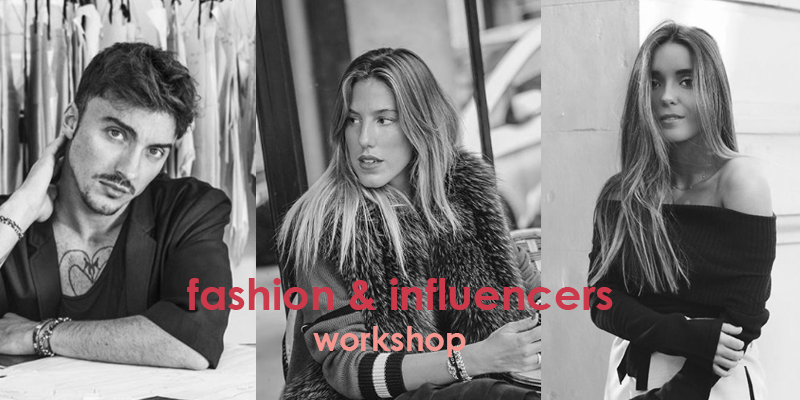 "Ze García, Carla Hinojosa, Inés Arroyo y más en Workshop ""Fashion & Influencers"" de EATM"